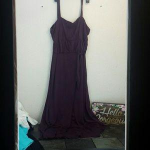 Calif. Cncpts. formal prom evening maxi dress 24W